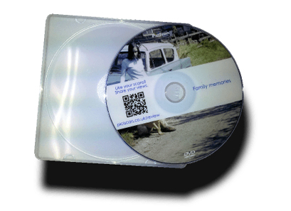 Example personalised DVD