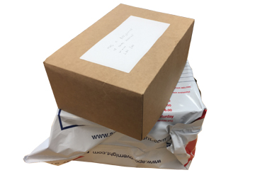 Returning Your Completed Order
