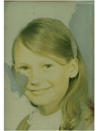 photo restoration service example before